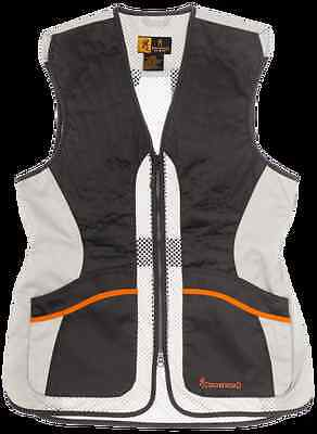 Browning Ultra Ladies Beige Shooting Vest shotgun Ambidextrous new for 2016