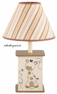 NEW NIB CoCaLo Baby Snickerdoodle Lamp Base and Shade $49.99