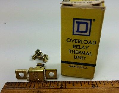 SQUARE D 1-A11.9 Overload Relay Thermal Unit   #58544