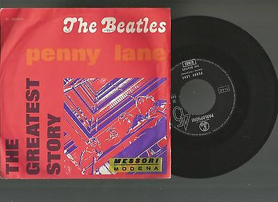 The Beatles:penny Lane/strwberry Fields Forever  The Greatest Story  Emi   04475