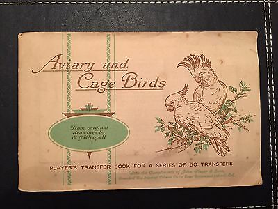 Players Aviary And Cage Birds In Album Full Set