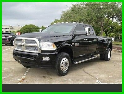 2014 Ram 3500 Longhorn Limited 2014 Longhorn Used 6.4L V8 16V Automatic Four Wheel Drive Pickup Truck Gas