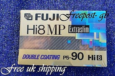 A QUALITY SUPERSLIM FUJI P5-90DS Hi8 / DIGITAL 8 VIDEO CAMCORDER TAPE / CASSETTE