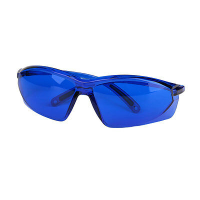 Safety Red Laser Protection Goggle IPL Blue Protective Glasses w/ Storage Box