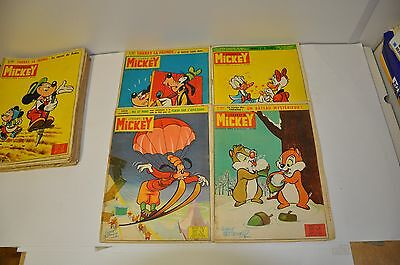 Lot De 4 Journal De Mickey  N° 608 - 609 - 610 - 611
