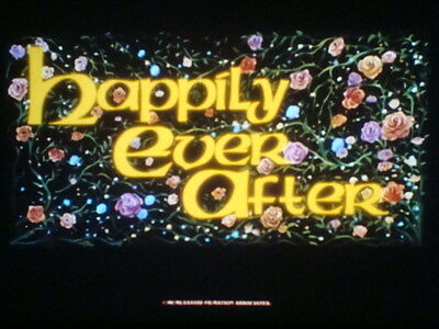 """35mm Cartoon Feature Film """"HAPPILY EVER AFTER""""  1990"""
