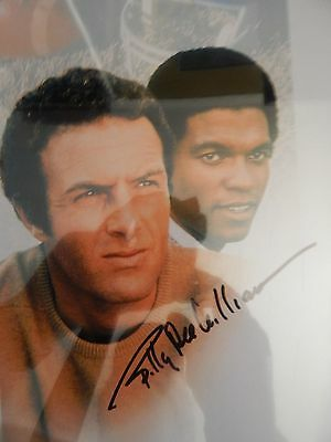 Billy Dee Williams Brians Song  signed scene 8x10