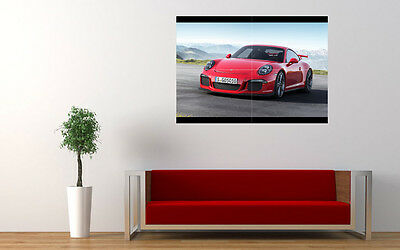 """2014 911 PORSCHE GT3 NEW GIANT LARGE ART PRINT POSTER PICTURE WALL 33.1""""x23.4"""""""