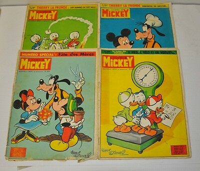 Lot De 4 Journal De Mickey  N° 622 - 624 - 625 - 626