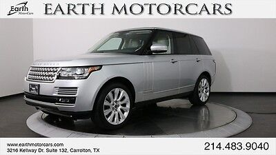 2013 Land Rover Range Rover  2013 RANGE ROVER SUPERCHARGED, NAV, PANO ROOF, CARFAX CERT, SERVICED, CLEAN!