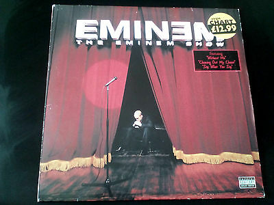 "Eminem - The Eminem Show (Original 1st EU Press) Double LP Vinyl 2 x 12""  Album"