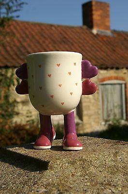carlton ware walking ware mug with FREE  undecorated version, an unusual item