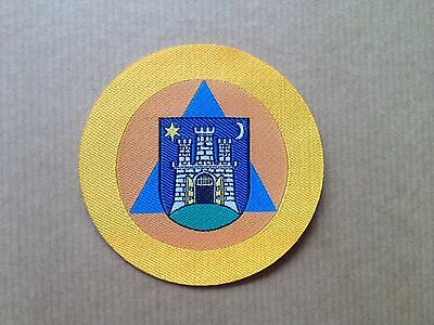 Zagreb Office of Emergency Management  patch, Croatia CAPITAL Civil service