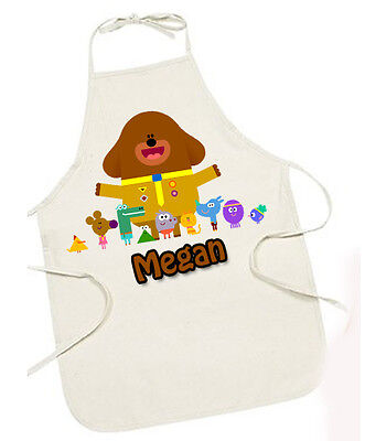 HEY DUGGEE  PERSONALISED Natural Color Apron 71 cm GIFT ITEM