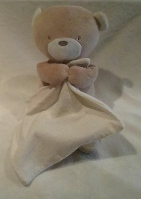 Marks And Spencer Baby Comforter Soft Toy Teddy Bear With Blanket Plays Music