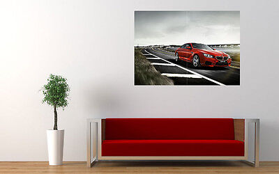 """2015 BMW M6 F13 COUPE NEW GIANT LARGE ART PRINT POSTER PICTURE WALL 33.1""""x23.4"""""""