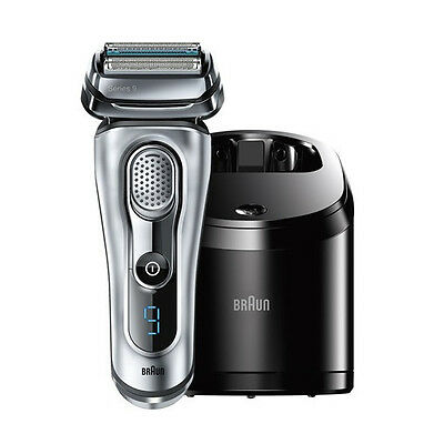 BRAUN Series 9 - 9095cc Herrenrasierer, silber Made in Germany