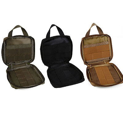 Tactical Outdoor Hunting Camping First Aid Survival Kit Gear Tool Bag Pouch