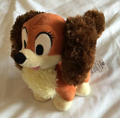 Disney Store Lady Soft Toy 6 Inch Lady And The Tramp