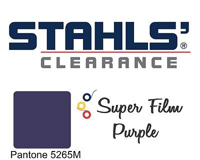 "Stahls' CAD-CUT® Super Film - Heat Transfer Vinyl - Purple - 20"" x 25 Yards"
