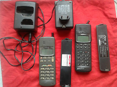 1992 RARE Vintage NOKIA 101 Mobile Phone BRICK ANALOGUE Model THX-6Y Class 4