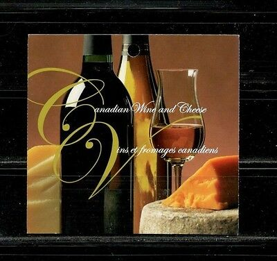 Canada Mint - Booklet #333 - Canadian Wine & Cheese
