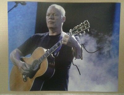 David Gilmour (Pink Floyd) Genuine Hand Signed Autograph