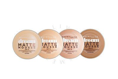 Maybelline Dream Matte Mousse Matte Foundation - Choose Shade - | Rrp £10.99 |
