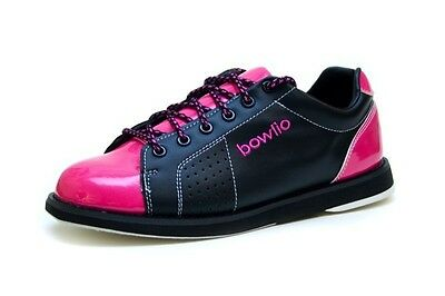Bowling shoes - Bowlio Hollywood Pink - From Synthetic with Microfiber roller