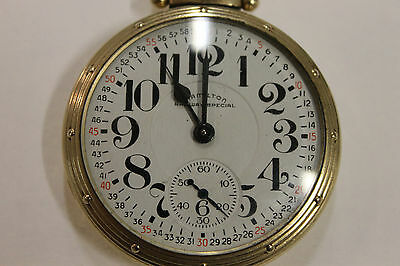 Hamilton 23 Jewel Model 950B Railway Special Pocket Watch 1951 AS-IS for Repair
