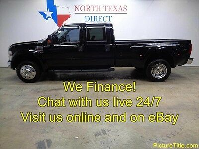 2008 Ford F-450  08 F450 Lariat 4x4 Dually Crew Diesel Leather Heated Seats WE FINANCE Texas