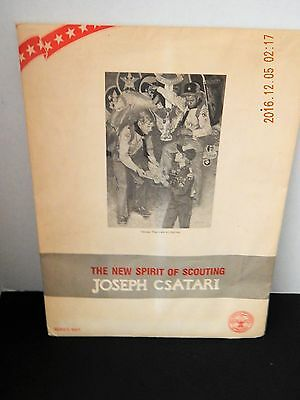 THE NEW SPIRIT OF SCOUTING Set Of 10 Artist Prints JOSEPH CSATARI Boy Scouts NEW