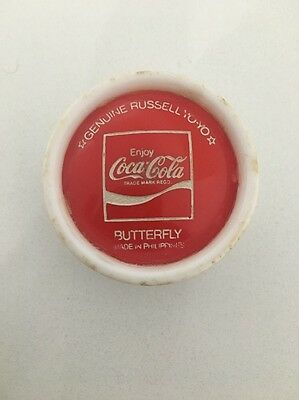 1976 Coca Cola Butterfly Genuine Russell Yoyo