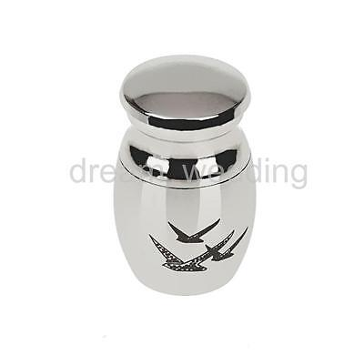 Small Keepsake Urn Small Cremation Urn for Ashes Funeral Urn Pigeon
