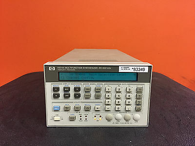 HP 8904A + Opt 002 / 004, DC/Sine to 600 kHz, Multifunction Synthesizer