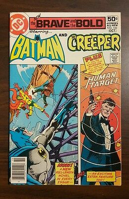THE BRAVE AND THE BOLD #143 Batman And The Creeper HIGH GRADE (DC, 1978)