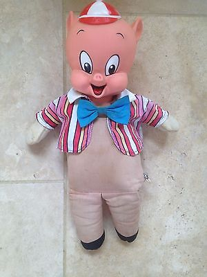 Vintage Porky Pig Toy -Original By Mattel-1964-Looney Tunes-Good Cond