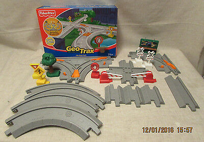Fisher Price, Geotrax City Track Pack Rail & Road System, Complete Original Box