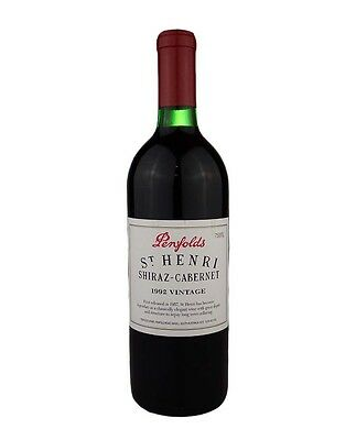 1992 Penfolds St Henri Shiraz-Cabernet 750Ml