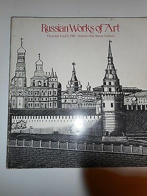 Sotheby's Russian Works of Art Auction Catalog December 1980