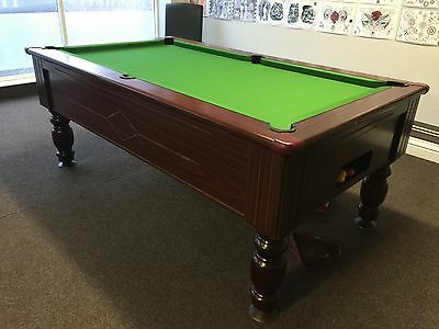 Pool Table - 6 x 3 FT - slate bed new cloth