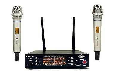 2CH UHF Wireless Handheld Microphone System Compact Receiver ATL-AUDIO UGX2Ⅱ H