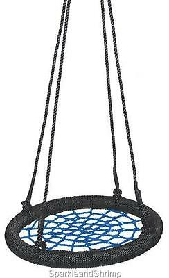 Two x Net Swings  Spider Web Style Outdoor Swing Play Equipment Accessories