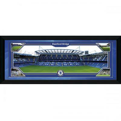 """Official Chelsea FC Framed Picture 30"""" x 12"""" - Stamford Bridge"""
