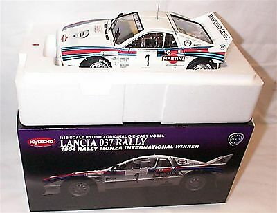 Lancia 037 Rally 1984 monza winner no1 New Boxed Item 1-18 Scale