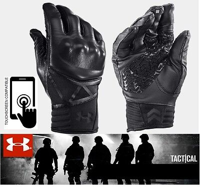Under Armour Hard Knuckle Tactical/motorcycle-Ua Tac Performance Leather Gloves