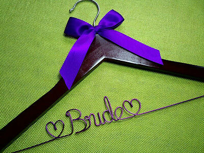 Free Shipping Personalized Wedding Hanger, bridesmaid gifts , brides name hanger