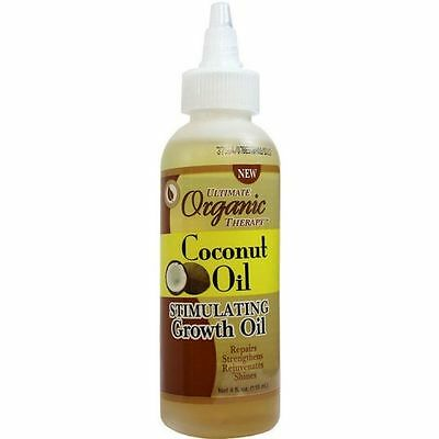 Ultimate Organic Therapy Coconut Oil Stimulating Growth 118 ml/FREE P&P
