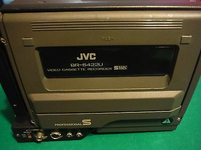 JVC BR-S422U S-VHS dockable recorder / player WORKS GREAT