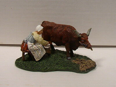 Lang & Wise Colonial Williamsburg Dairymaid Milking Nice Condition/No Box